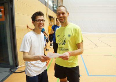 Volleyballspieler vom CSV-Stuttgart