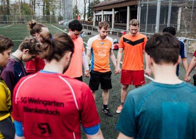 Gemeinsamer Start der Herrenfussball-Mannschaft des CSV