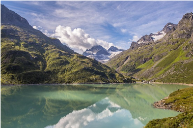Bergsee im Silvretta